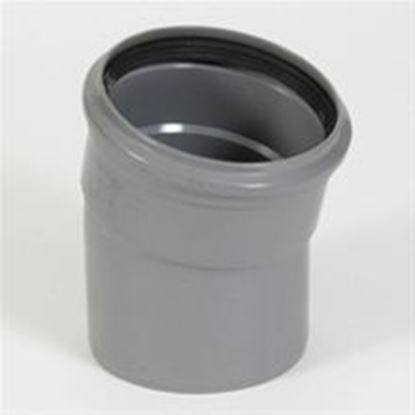 Afbeeldingen van PVC bocht D.110 - 15° - M/S