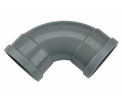 Afbeeldingen van PVC bocht D.110 - 88° - M/M