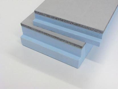 Image de Styrock kantplank 1220x300x50+15 mm betongrijs SR 3005