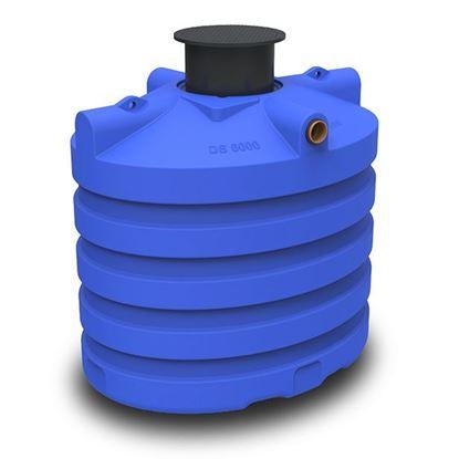 Image de Regenwaterput / septische put DS6000 premium - 6000L