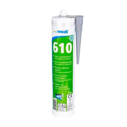 Afbeeldingen van Wedi 610 lijm- en afdichtmiddel 310 ml