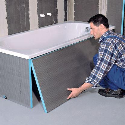 Afbeeldingen van Wedi Bathboard 1800x600x20 mm langselement