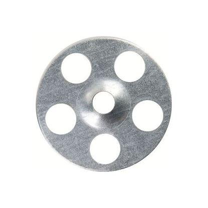 Afbeeldingen van Wedi metaalrozet diam 35 mm 100 st gegalvaniseerd