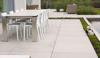 Picture of Ebema Style&Stone Magategel Smooth 100x100x4cm grey velvet