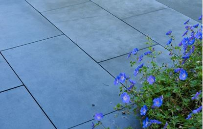 Picture of Ebema Style&Stone Magategel Smooth 100x50x4cm blue velvet