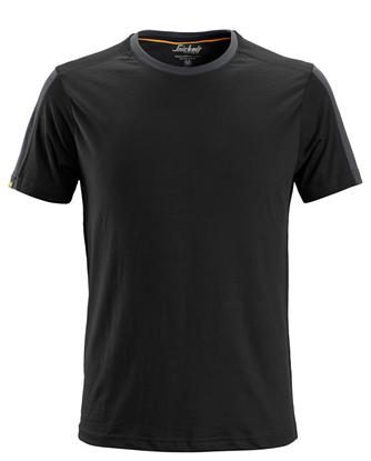 Afbeeldingen van Snickers 2518 t-shirt - zwart