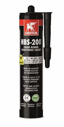 Image de Griffon HBS-200® Rubber tix Koker 310g