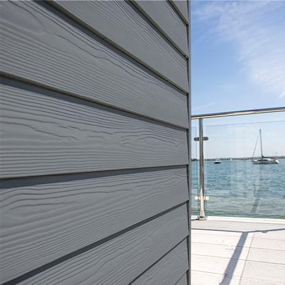 Image de Eternit sidings classic wood C15 As grijs - 3.6 x 0.2 m