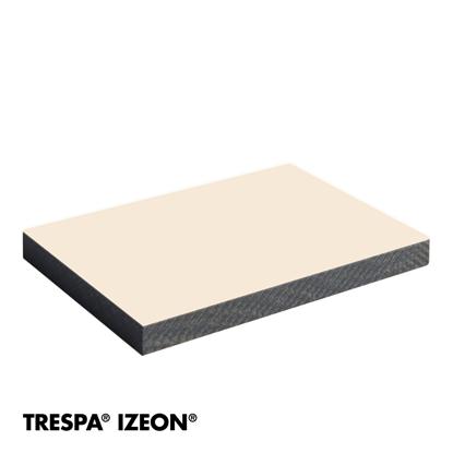 Picture of Trespa Izeon - 9001 Crème wit - 3,05X1,35 6mm - 1 zijdig