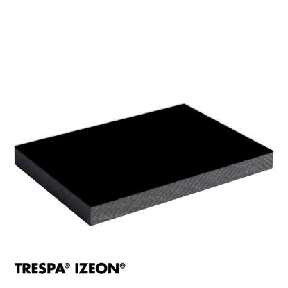 Picture of Trespa Izeon - 9005 Zwart - 3,05X1,35 6mm - 1 zijdig