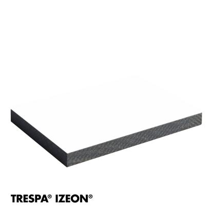 Picture of Trespa Izeon - 9010 Wit - 3,05X1,35 6mm - 1 zijdig