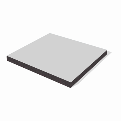 Picture of Trespa Izeon - 9016 Traf. White - 3,05X1,35 6mm - 1 zijdig
